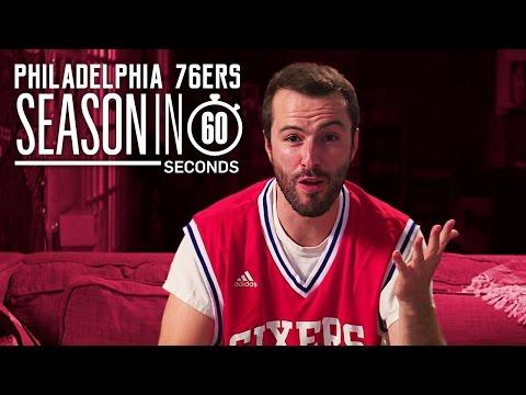 Philadelphia 76ers Fans | Season in 60 Seconds