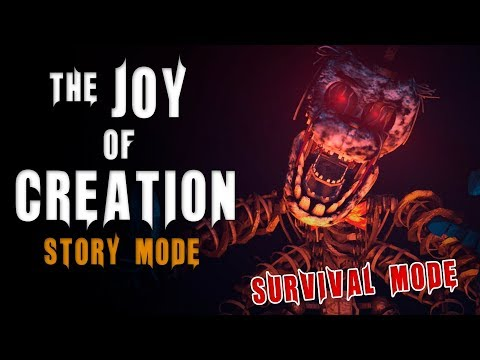 The Joy of Creation: Story Mode | Survival Mode | Speedrun 51:53