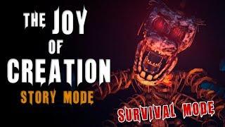 The Joy Of Creation: Story Mode | Survival Mode | Speedrun 51:53