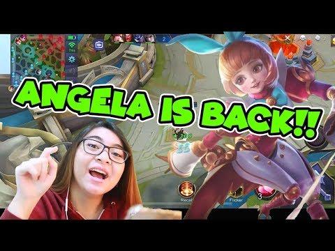 GLOBAL ANGELA + TEAM NO TANK. WIN??? - Mobile Legends: Bang Bang thumbnail