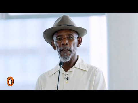 Poet Linton Kwesi Johnson reads Tings at Windrush celebrations