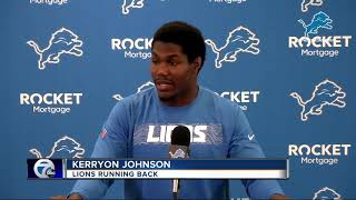 Kerryon Johnson will spoil Game of Thrones for you