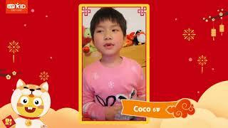 VIPKID students wish you happy Chinese New Year