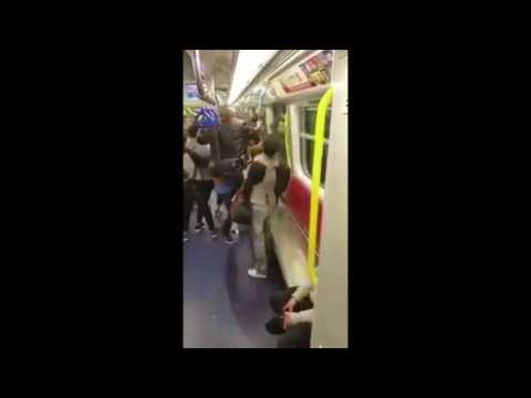 Muslim Migrants Harass Commuters, But They Fight Back