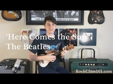 'Here Comes the Sun' - The Beatles: Ukulele Free Lesson