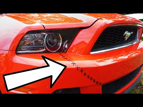 Thumbnail: Fix a Cracked Bumper Fast and Easy with Zip Ties (Drifters' Stitch)