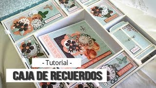 CAJA DE RECUERDOS (COLABORACION CON KORA PROJECTS) - TUTORIAL | LLUNA NOVA SCRAP