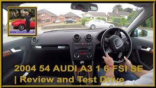 Virtual Video Test Drive in our 2004 54 AUDI A3 1 6 FSI SE