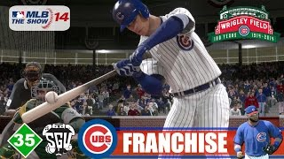 MLB 14: The Show (PS4) Chicago Cubs Franchise - EP35 (World Series vs A