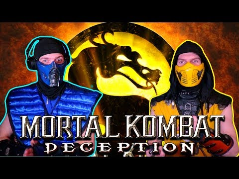 Scorpion & Sub-Zero Play - MORTAL KOMBAT: DECEPTION (Konquest Story Mode) | MK11 PARODY! thumbnail