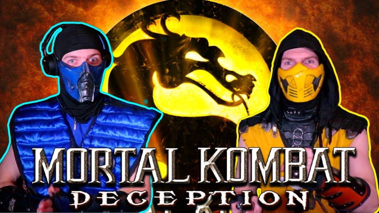 Scorpion & Sub-Zero Play - MORTAL KOMBAT: DECEPTION (Konquest Story Mode) |  MK11 PARODY!