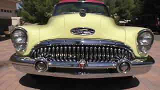 1953 Buick Super Convertible Model 56C 1st Year V8