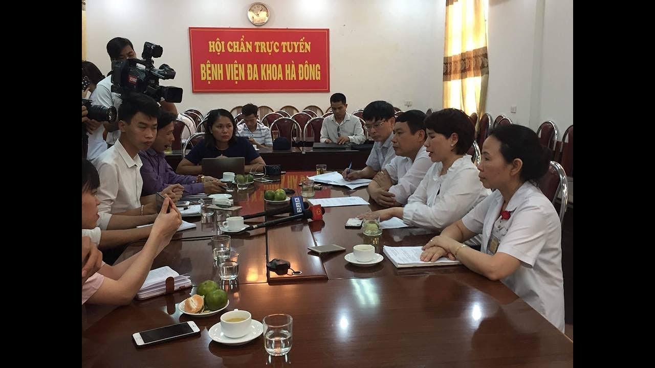 BV Hà Đông họp báo về bệnh nhân tử vong sau phẫu thuật gãy tay