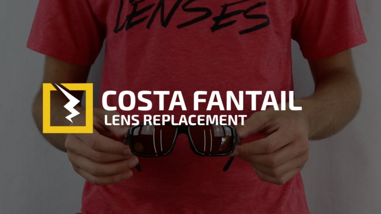 How to Change the Lenses in your Costa Del Mar Fantail - YouTube