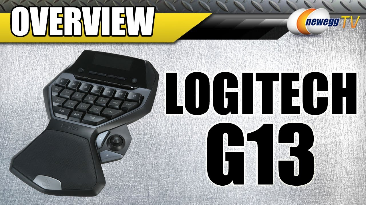 Logitech G13 (920-000946) Advanced Gameboard - Newegg com