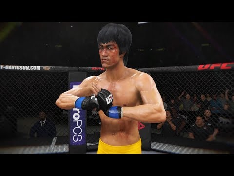 Liu Kang vs. Bruce Lee (EA Sports UFC 3) - CPU vs. CPU