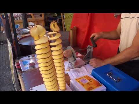 Spiral Potato, Tornado Potato, How to Make Spiralis Potato