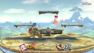 Gin (Jigglypuff) vs SI Mika (Bowser) - Online Tournament Game