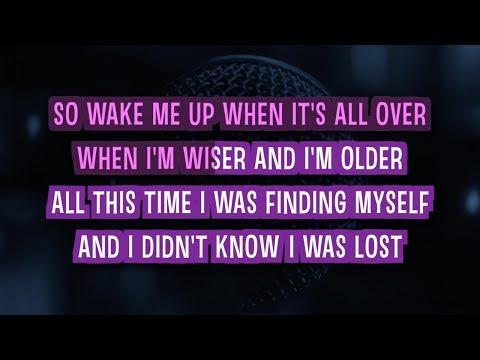 Wake Me Up Karaoke Version by Avicii feat. Aloe Blacc