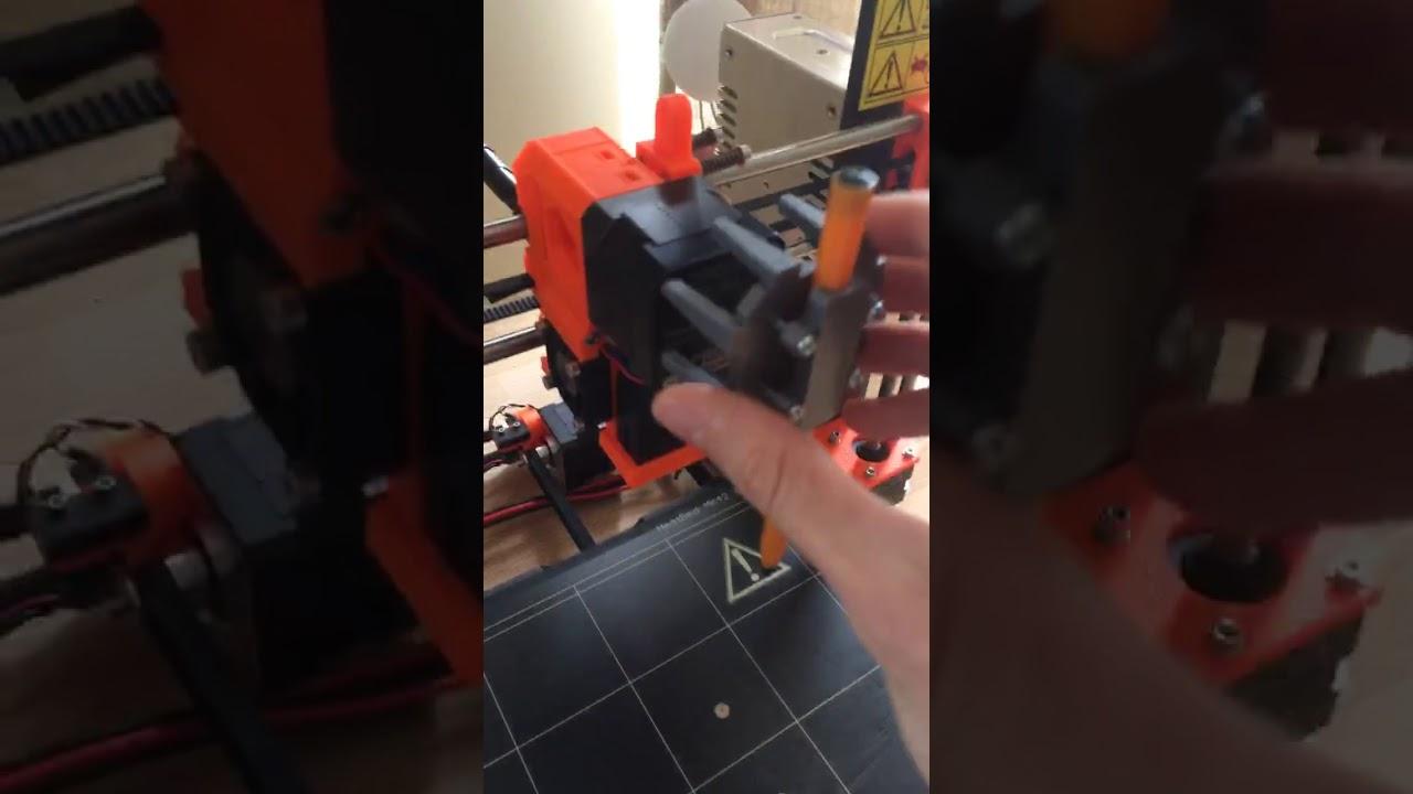 Prusa i3 MK2S pen plotter