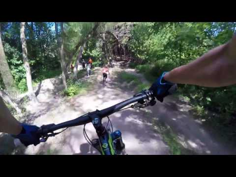 GoPro Little Switzerland Mountain bike trails 2017