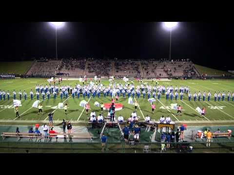 Apopka Blue Darters Marching Band at Spec Martin Municipal Field