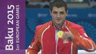 Parviz Baghirov Wins The Men's Welterweight (69kg) | Boxing | Baku 2015 European Games