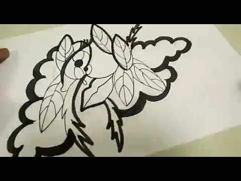 vídeo Desenho Abstrato Por Eriberto Henrique