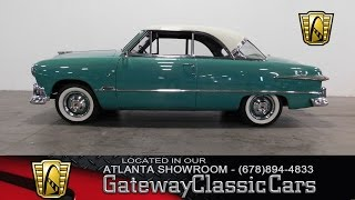 1951 Ford Victoria - Gateway Classic Cars of Atlanta #310