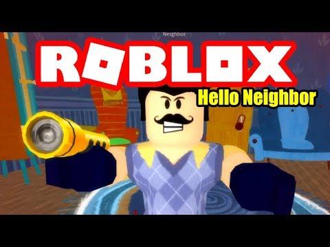 Hello Neighbor Act 1 House Roblox Youtube