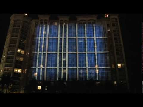 METROPOLY BUILDING PROJECTION 3D MAPPING WEST PALM BEACH