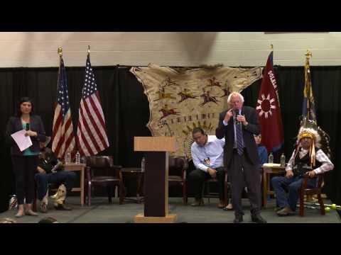 Pine Ridge, South Dakota Town Hall | Bernie Sanders