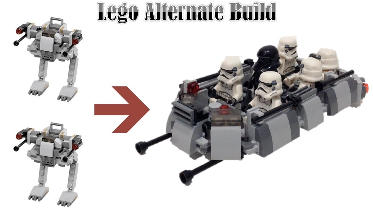 Lego custom imperial troop transport youtube - Lego croiseur imperial ...