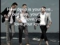 Download How Deep Is Your Love - Akcent with lyrics MP3 song and Music Video