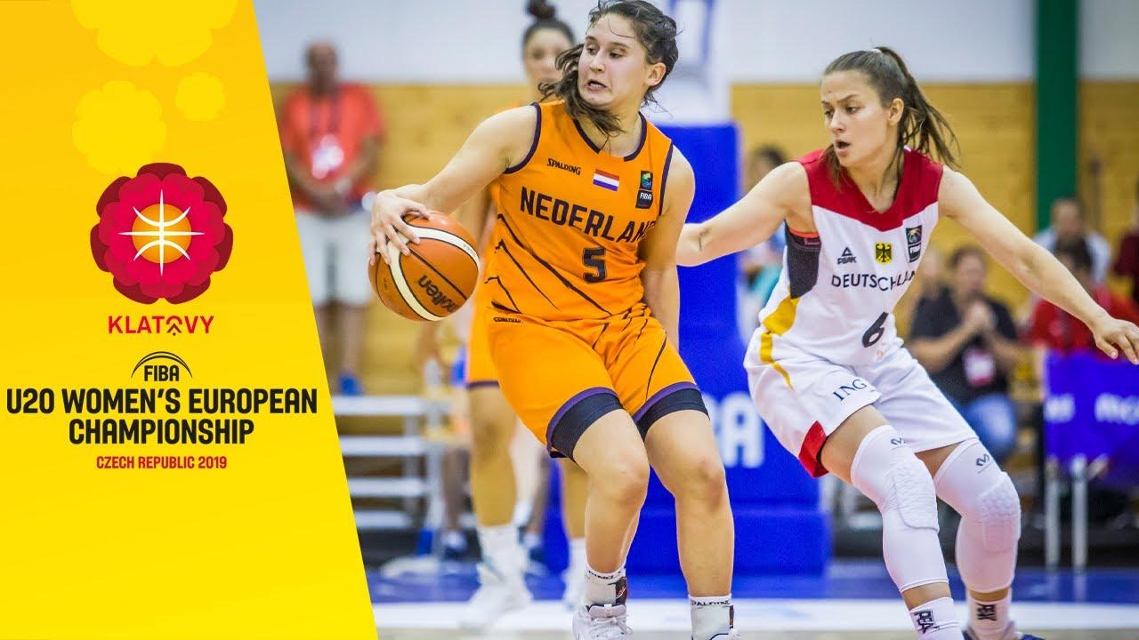 Germany v Netherlands - Full Game - FIBA U20 Women's European Championship 2019