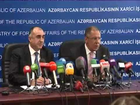 April 3, 2012 Azerbaijan_Russian, Azerbaijani foreign ministers meet in Baku