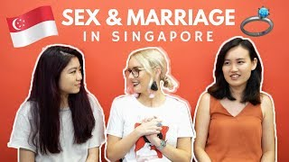 SINGAPOREAN VS BRITISH ON SEX EDUCATION AND MARRIAGE