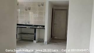 820 sqft. 2 bedroom flat sale in Kolkata, near Garia metro station at only just 26.60 Lacs