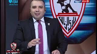 الناقد الرياضي محمد الشرقاوي ساخراً من الأهلي بعد مباراة الترجي: الأهلي ليه 10 أهداف ملغية