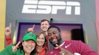 Alabama, Notre Dame, Oklahoma, Clemson superfans compete on the #ESPNBillboard