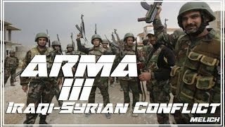 ARMA 3 : Syrian Army In Desert Push  !!