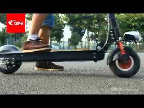 2014 Adult Lithium Battery Electric Scooter Youtube
