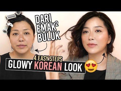 Simple Glow Glassy Korean Makeup Drugstore Bikin Muda 10 Tahun!
