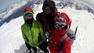 Mont Blanc à skis 2014