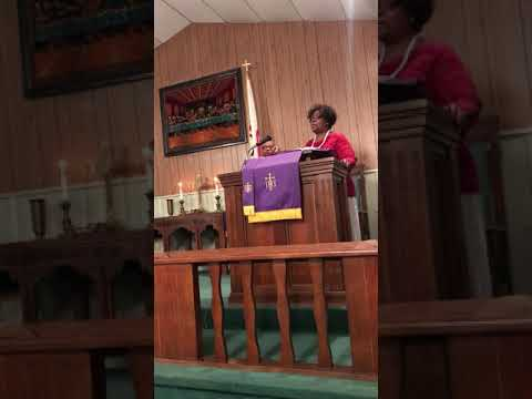Come See About Me...Rev. Dana Pate at Mt Beulah United Methodist-Catawba, NC Annual Red & White