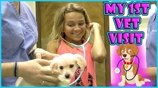 HARLEY HAS TO SEE THE VET | WHO ELSE DO WE SEE AT THE VET? | We Are The Davises