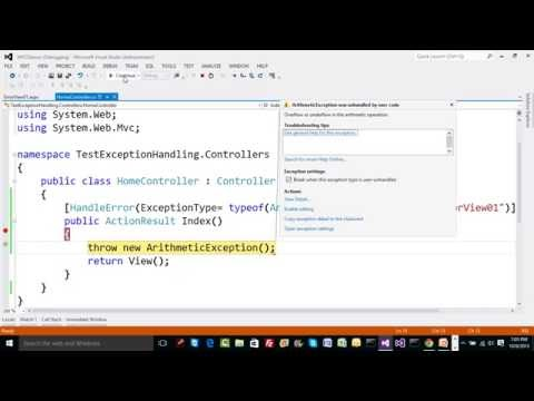 13  Understand Exception Handling in ASP.NET MVC