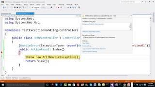 13  Understand Exception Handling in ASP.NET MVC
