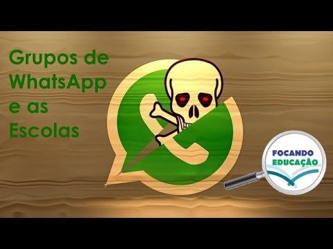 Grupos De Whatsapp E As Escolas