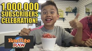 1,000,000 SUBSCRIBERS!!! EvanTubeRAW Dessert For Dinner Celebration!!!